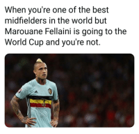 How was this guy left out?! 🤔👀⚽️ Belgium WorldCup Nainggolan: When you're one of the best  midfielders in the world but  Marouane Fellaini is going to the  World Cup and you're not. How was this guy left out?! 🤔👀⚽️ Belgium WorldCup Nainggolan