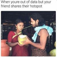 "Memes, Http, and Data: When youre out of data but your  friend shares their hotspot <p>Sharing via /r/memes <a href=""http://ift.tt/2zftm4R"">http://ift.tt/2zftm4R</a></p>"