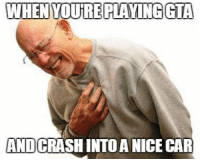 WHEN YOURE PLAYING GTA  AND  NICE CAR Right in the feels. Car Throttle Gaming