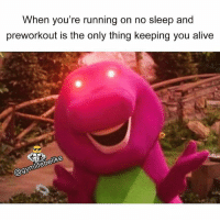 I'm addicted 😍 Via @gymlifebelike: When you're running on no sleep and  preworkout is the only thing keeping you alive  @gymlifebelike I'm addicted 😍 Via @gymlifebelike