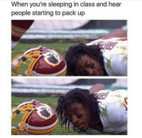 @studentlifeproblems: When you're sleeping in class and hear  people starting to pack up @studentlifeproblems