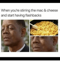 Okay this is a one time thing. I need help from vegans or people who don't eat pork but use to. What'd y'all replace it with? Plus I need a substitution for bacon, cause I love that shit: When you're stirring the mac & cheese  and start having flashbacks Okay this is a one time thing. I need help from vegans or people who don't eat pork but use to. What'd y'all replace it with? Plus I need a substitution for bacon, cause I love that shit