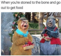Food, Bone, and Why: When you're stoned to the bone and go  out to get food <p>Why are we here again? 😵🙃😳</p>
