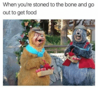 Food, Hump Day, and Memes: When you're stoned to the bone and go  out to get food 29 Random Pics and Memes That Will Make Your Hump Day Complete #Weed #Stoned #Memes