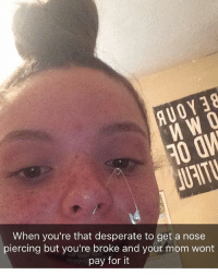 Funny Nose Piercing Meme Funny Png