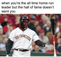 Will Barry Bonds ever get in?: when you're the all time home run  leader but the hall of fame doesn't  want you  tr  92 Will Barry Bonds ever get in?