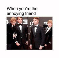 Memes, Annoying, and 🤖: When you're the  annoying friend  GIGA  HAW  les