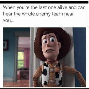 Check our Facebook group #gamers #gaming #funny #gamermemes #onlinegame #games #gamermeme #apex #apexlegends: When you're the last one alive and can  hear the whole enemy team near  you... Check our Facebook group #gamers #gaming #funny #gamermemes #onlinegame #games #gamermeme #apex #apexlegends