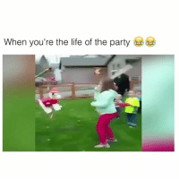 Life, Party, and Videos: When you're the life of the party Volume on! This laugh is contagious 😍 Follow me @teengirlclub for the cutest videos 💕