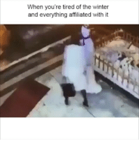 😂😂😂 Follow @viralcypher And the snowman got the last hit. Lol funniest15seconds viralcypher Email: funniest15seconds@yahoo.com Website : www.viralcypher.com: When you're tired of the winter  and everything affiliated with it 😂😂😂 Follow @viralcypher And the snowman got the last hit. Lol funniest15seconds viralcypher Email: funniest15seconds@yahoo.com Website : www.viralcypher.com
