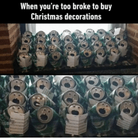 a choir that CAN actually sing⠀ By masterninja | TW⠀ -⠀ christmasdecoration beercan choir 9gag: When you're too broke to buy  Christmas decorations a choir that CAN actually sing⠀ By masterninja | TW⠀ -⠀ christmasdecoration beercan choir 9gag