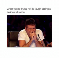 Girl Memes, Haha, and Situations: when you're trying not to laugh during a  serious situation SIMON OR WHATVER HAHA