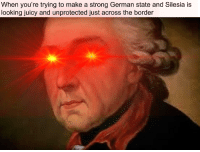 Juicy, History, and World: When you're trying to make a strong German state and Silesia is  looking juicy and unprotected just across the border