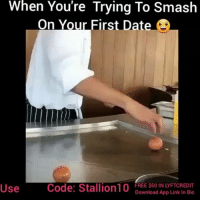 Latinos, Makeup, and Memes: When You're Trying To Smash  On Your First Date  Code: Stallion10  FREE $50 IN LYFTCREDIT  Download App Link In Bio  Use FOLLOW👉@the_salvi_stallion👈 for the funniest videos & memes 🔥@the_salvi_stallion1🔱 BACKUP @the_salvi_stallion3✅📌♻ 🎶:or nah- TY dolla $ing 😂 ✔ Turn notifications on 🚨FREE $50 IN LYFTCREDIT🚨Link in Bio🔥🍻dont drink & drive use our Lyft🚗 Code➡ •(stallion10)• ⬅and get up to $50 in Free Rides! Just download the app from our Bio and use our code! Be Safe🙌🏻 💯 nochill mexicanproblems YouGonLearnToday bitchesbelike niggasbelike savage makeup gymrat comedy today salvadorian funnyaf dankmemes salvipride mexican hilarious jokes money lmao elsalvador latinoproblems bestpage 503 hood latino latina pettypost petty thesalvistallion