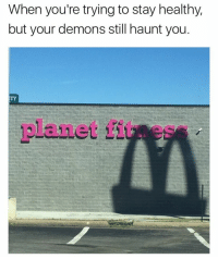 The struggle is real: When you're trying to stay healthy,  but your demons still haunt you  TY The struggle is real
