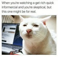 Yes I would like to make 40k a month...continue...: When you're watching a get rich quick  informercial and you're skeptical, but  this one might be for real Yes I would like to make 40k a month...continue...