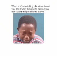 Lit, Memes, and Earth: When you're watching planet earth and  you don't want the prey to die but you  don't want the predator to starve Planet earth is lit