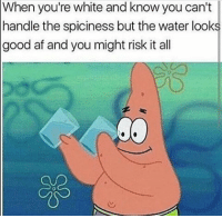 Memes have been shet lately dankmemes meme 4chan reddit minecraft roblox clubpenguin nicememe immortalmemes fnaf papafranku jetfuelcantmeltsteelbeams undertale kek ayylmao weeb weeaboo isis sonic jacksepticeye billcosby cringe stevenuniverse bionicle whitepeople blacklivesmatter sjw tumblr triggered relatable: When you're white and know you can't  handle the spiciness but the water looks  good af and you might risk it all Memes have been shet lately dankmemes meme 4chan reddit minecraft roblox clubpenguin nicememe immortalmemes fnaf papafranku jetfuelcantmeltsteelbeams undertale kek ayylmao weeb weeaboo isis sonic jacksepticeye billcosby cringe stevenuniverse bionicle whitepeople blacklivesmatter sjw tumblr triggered relatable