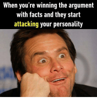 Wow, it's my fault again? Follow @9gag for more relatable memes. 9gag argument shocked nofriend: When you're winning the argument  with facts and they start  attacking your personality Wow, it's my fault again? Follow @9gag for more relatable memes. 9gag argument shocked nofriend