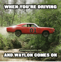 On this day in 1979 -- The Dukes of Hazzard made its television debut on CBS with the Balladeer being none other than Waylon Jennings!: WHEN YOURRE DRIVING  01  wehatepopcountry.com  ANDWAYLON COMES ON On this day in 1979 -- The Dukes of Hazzard made its television debut on CBS with the Balladeer being none other than Waylon Jennings!