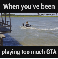 Head over the UNILAD Gaming for more!: When you've been  austinkeen47  playing too much GTA Head over the UNILAD Gaming for more!
