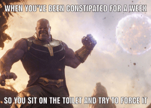 Destiny, Run, and All The: WHEN YOU'VE BEEN CONSTIPATED FOR A WEEK  .SO YOU SIT ON THE TOILET AND TRY TO FORCE IT Dread it. Run from it. Destiny arrives all the same.