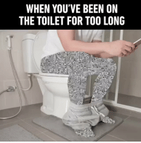 The Worst, Been, and For: WHEN YOU'VE BEEN ON  THE TOILET FOR TO0 LONG The worst 😩😂 https://t.co/3yR0J5VsJv