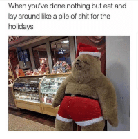 Latinos, Memes, and Shit: When you've done nothing but eat and  lay around like a pile of shit for the  holidays Lmaoo 😊😊😊😂😂 🔥 Follow Us 👉 @latinoswithattitude 🔥 latinosbelike latinasbelike latinoproblems mexicansbelike mexican mexicanproblems hispanicsbelike hispanic hispanicproblems latina latinas latino latinos hispanicsbelike