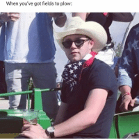When you've got fields to plow: what in tarnation