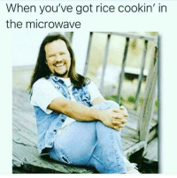 Dank Memes, Got, and Microwave: When you've got rice cookin' in  the microwave @boyswhocancook