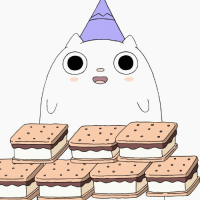 Bad, Memes, and 🤖: When you've had a bad week but then you find out it's S'mores Day! ⊂(◕ ◡ ◕)つ旦 How many s'mores could you eat in one sitting? . NationalSmoresDay SummerCampIsland smores kawaii Friyay