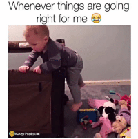 Memes, Prank, and 🤖: Whenever things are going  right for me  ownage Pranks.com Back you go 😂