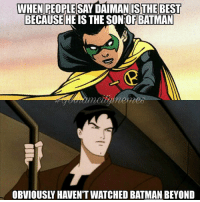 This is the Battle of the Bastards that I want to see.  #Gothamcitymemes   -Reverse Flash: WHENIPEOPLESAY DAIMANISTHEBEST  BECAUSE|HE IS THE SON:0EBATMAN  mettamemes  OBVIOUSLY HAVENT WATCHED BATMAN BEYOND  gully This is the Battle of the Bastards that I want to see.  #Gothamcitymemes   -Reverse Flash