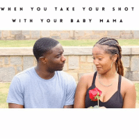 Memes, Baby, and 🤖: WHENYOUTA KEY OUR S HO T  WIT H Y O U R B A BY M A MA 😂 When You Take Your Shot With Your Baby Mama😂😒! Ft @canbharri JustComedy DesiBanksComedy TagYourFriends