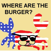 Happy 4th of July, amerifats: WHERE ARE THE  BURGER? Happy 4th of July, amerifats