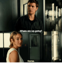 Where are we going?  CRANKSERUM  Home. [ Allegiant] I can't decide exactly what to post so I'll just post different stuff to see what works okay I'm going to be really active so I hope you guys enjoy 😊
