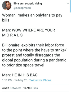 Where are your morals: Where are your morals