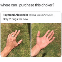 It's amazing how unattractive someone looks when they take a selfie with an Android compared to an iPhone: where can i purchase this choker?  Raymond Alexander @RAY_ALEXANDER  Only 2 rings for now It's amazing how unattractive someone looks when they take a selfie with an Android compared to an iPhone