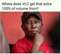 Where Does VLC Get That Extra 100% of Volume From
