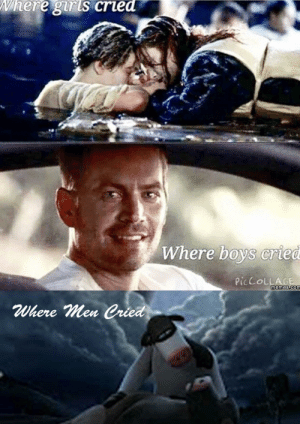 Dank, Memes, and Target: Where giris cried  Where boys cried  PICCOLLAGE  memes.com  Where Men Cried True Story by The_bedstealer12 FOLLOW 4 MORE MEMES.