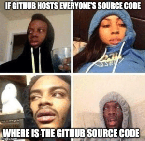 Where is GitHub's source code: Where is GitHub's source code