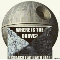 """Curving, Death Star, and Tumblr: WHERE IS THE  CURVE?  RESEARCH FLAT DEATH STAR! <p><a href=""""http://www.luisonte.es/post/166195348634/jaque-mate-ateitos-conspiranoicos-imperiales"""" class=""""tumblr_blog"""">luisonte</a>:</p>  <blockquote><p>Jaque mate ateitos conspiranoicos imperiales.</p></blockquote>"""