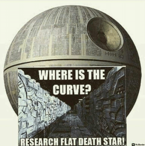 Wake up sheeple!!: WHERE IS THE  RESEARCH FLAT DEATH STAR! Wake up sheeple!!