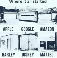 Amazon, Apple, and Disney: Where  it  all  started  APPLE GOOGLE AMAZON  HARLEY DISNEY MATTEL
