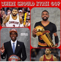 Cavs boutta trade Kyrie straight to Brooklyn for this😂 Which team would he fit on best? (via @hoop.editing): WHERE SHOULD KYRIE GO?  CAVALIERS  EDITING Cavs boutta trade Kyrie straight to Brooklyn for this😂 Which team would he fit on best? (via @hoop.editing)