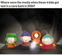 Lost, Kids, and Back: Where were the media when these 4 kids got  lost in a cave back in 2006?