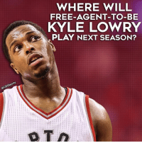 The 3x All-Star will have options.: WHERE WILL  FREE-AGENT-TO-BE  KYLE LOWRY  PLAY NEXT SEASON?  rts  CBSSpo The 3x All-Star will have options.
