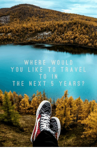 Travel: WHERE WOULD  YOU LIKE TO TRAVEL  TO IN  THE NEXT 5 YEARS?