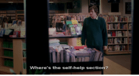 Help, Eternal Sunshine of the Spotless Mind, and Mind: Where's th elhielpse  Where's the self-help section? Eternal Sunshine of the Spotless Mind