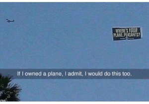 Life, Tumblr, and Blog: WHERES YOU  PLANE PEASANTS?  If I owned a plane, l admit, I would do this too. sweetysan:  Draco Malfoy enjoying the muggle life